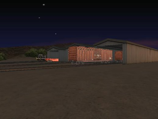 Sobell Rail Yards Realistic Rail Yard