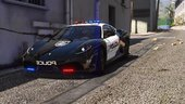 Ferrari F430 Scuderia | Hot Pursuit Police [Add-On / Replace | Tuning | Template]