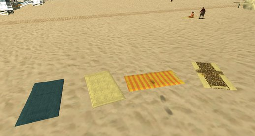 Beachtowels Froms GTA V (Normal Maps)