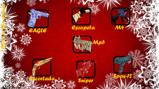 Christmas Weapons Pack