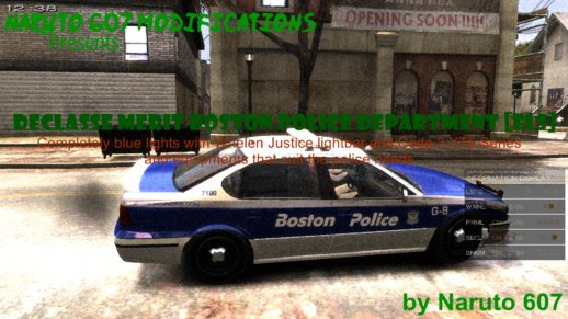 Declasse Merit Boston Police Department [ELS]