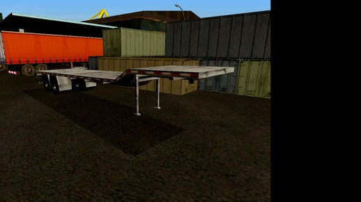 Flatbed Trailer (6 Extras)