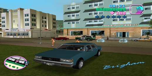 GTA III Beta Brigham (MVL) for VC