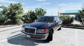 1990 Mercedes-Benz 560sel w126 [Add-On / Replace | Animated]