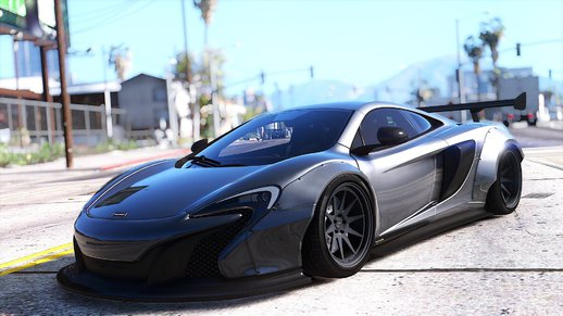 McLaren 650S Coupe Liberty Walk [HQ | Replace]