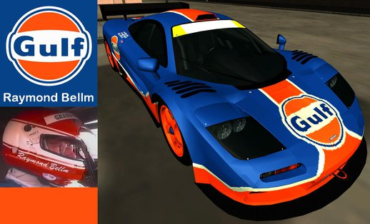1996 Gulf McLaren F1 GTR Road Legal Car