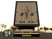 Scania R620 with RIMAU Soft Ice Cream Trailer