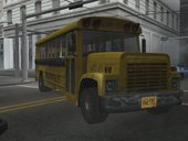 Driver Parallel Lines School Bus (Damaged Version)