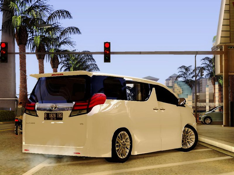 Gta San Andreas 2015 Toyota Alphard 2 5 G V 1 Mod Gtainside Com