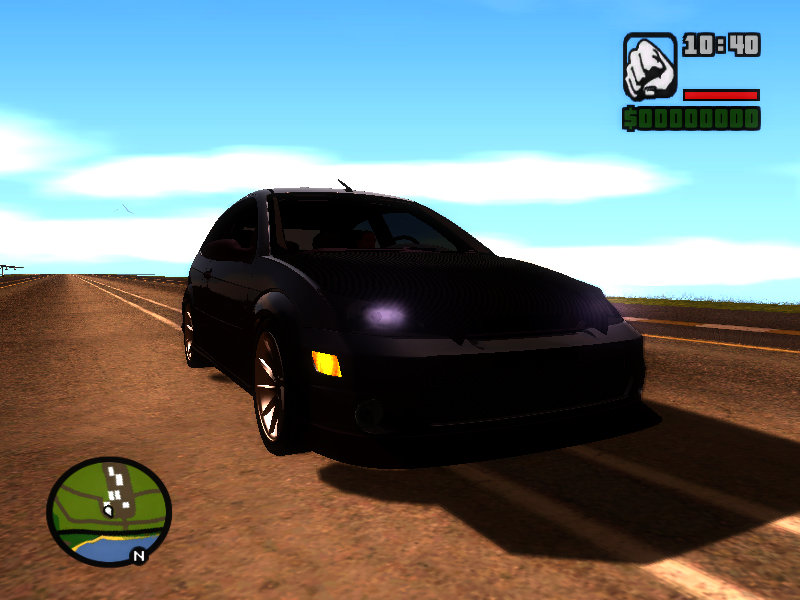 Gta San Andreas Ford Focus Svt Mod Gtainside Com