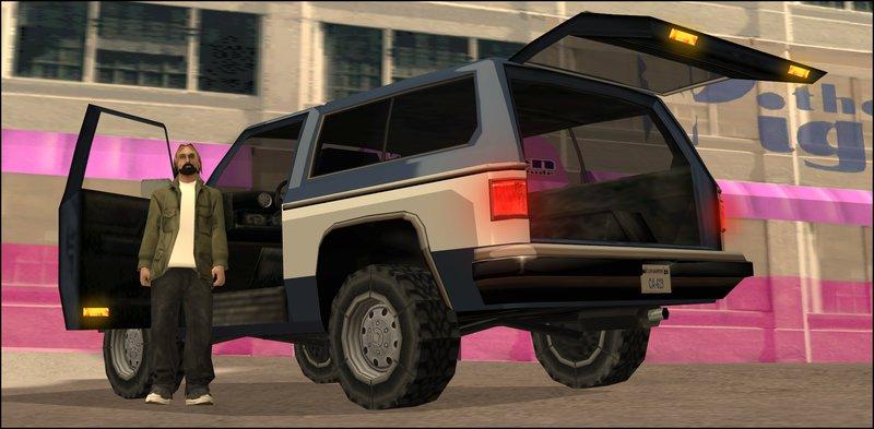 Gta San Andreas Chevrolet Blazer K5 Rancher Style Mod Gtainside