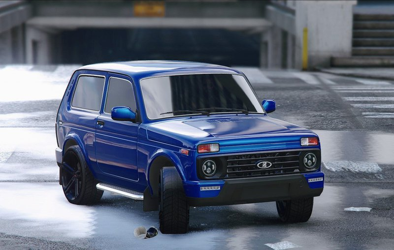 gta 5 lada niva urban 2016 add on replace tuning mod. Black Bedroom Furniture Sets. Home Design Ideas