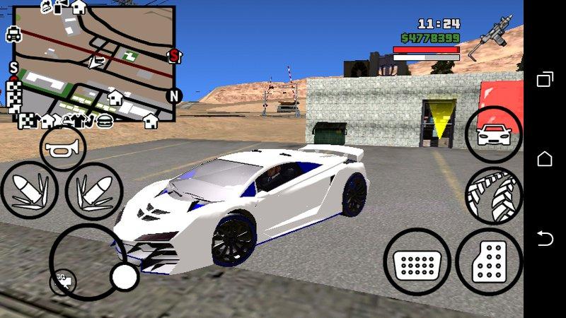 GTA San Andreas GTA V Pagassi Zentorno dff only no txd Mod