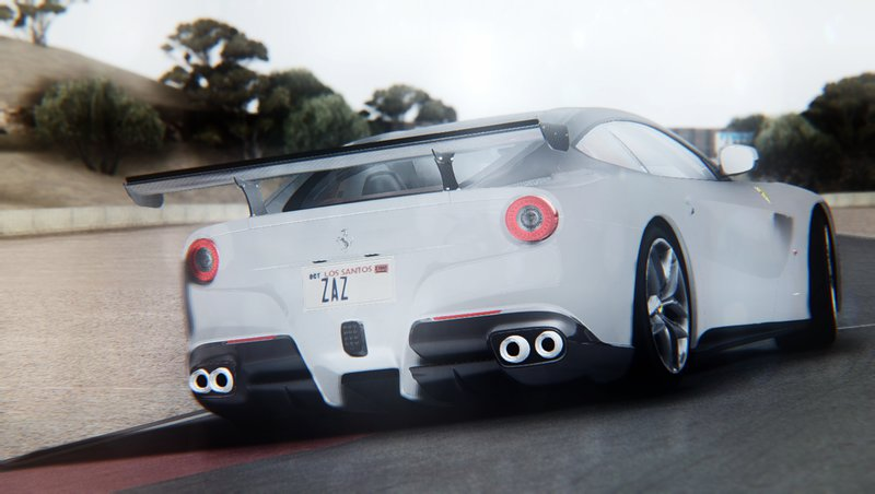 Gta San Andreas 2013 Ferrari F12 Berlinetta Mod Gtainside