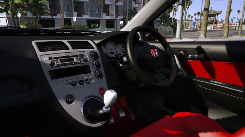Gta 5 2004 Honda Civic Type R Ep3 Add On Rhd Mugen Mod
