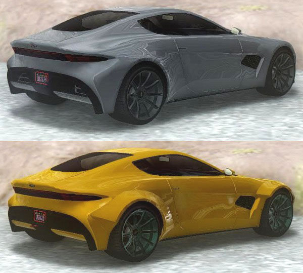GTA San Andreas GTA V Dewbauchee Specter & Custom Mod