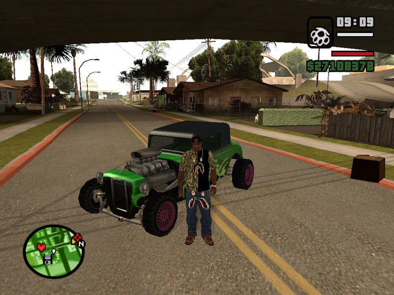 how to  clothes in gta san andreas