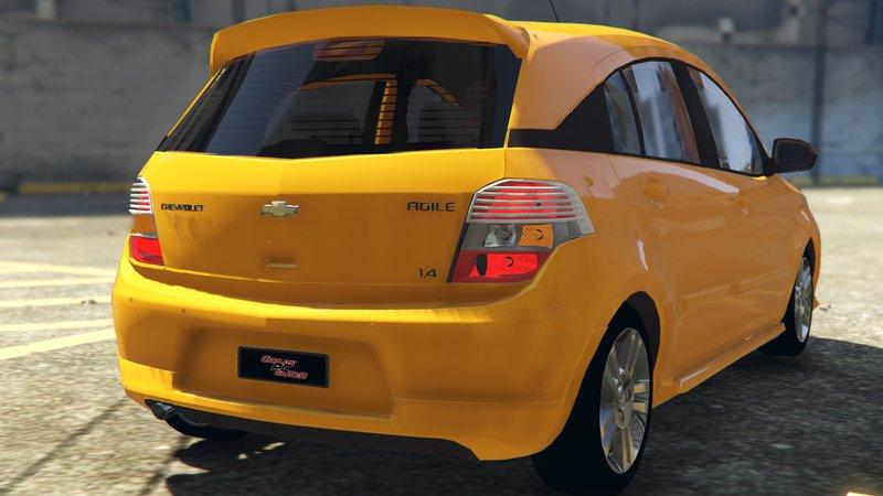 Gta 5 2010 Chevrolet Agile Mod Gtainside