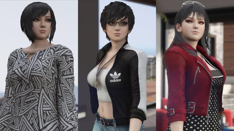 GTA 5 Momiji Dead Or Alive 5 [Add-On Ped | Replace] 3 0 Mod