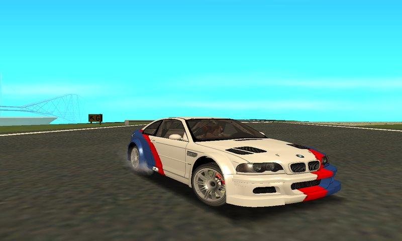 GTA San Andreas NFS:MW BMW M3 GTR (E46) HIDDEN VINYL ...