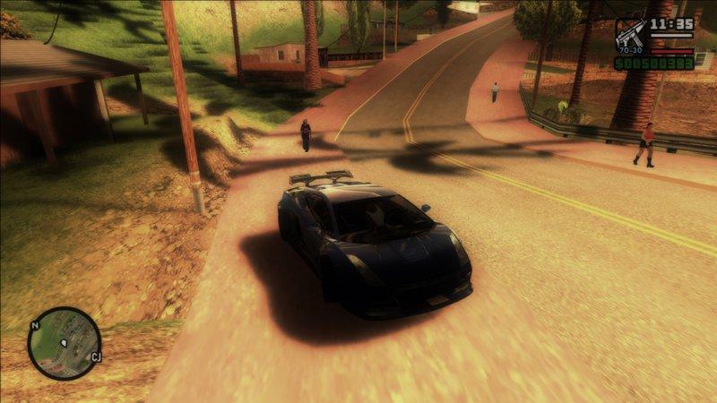 GTA San Andreas Redux Graphics San Andreas Mod - GTAinside com
