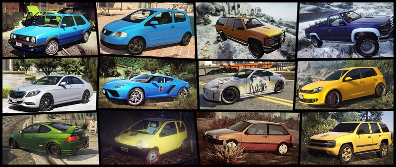 GTA 5 Gta5KoRn Car Pack (36 cars) Mod - GTAinside com