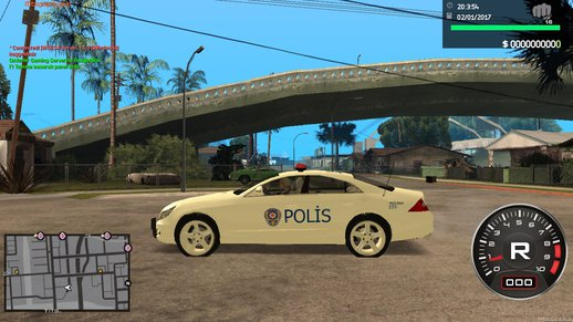 Mercedes CLS 500 Turkish Police Turk Polisi