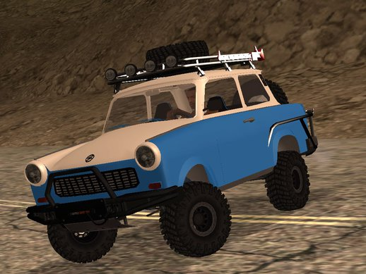 Trabant 601 4x4 OFF ROAD
