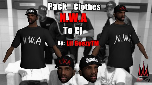Pack Clothes N.W.A To Cj HD