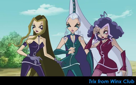 Trix from Winx Club