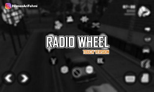 Radio Wheel (Touch Version) For Android