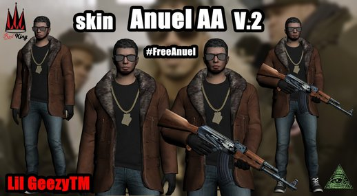 Skin Anuel AA V2 By Lil Geezy TM