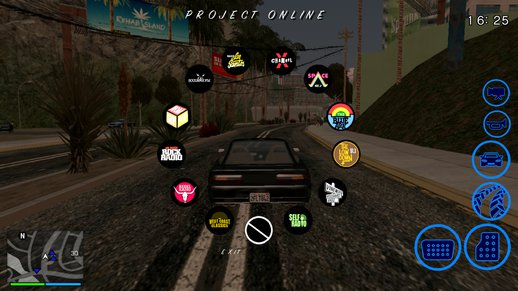 GTA V Radio Wheel for Android v1.2 (Colored)