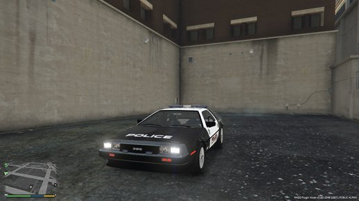 Delorean Dmc12 Police
