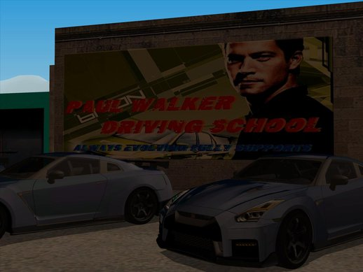SF_Paul Walker Driving School Ver.2