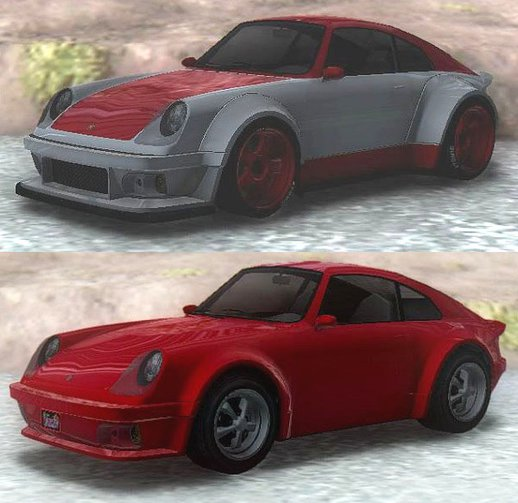 GTA V Pfister Comet Retro Custom & Normal