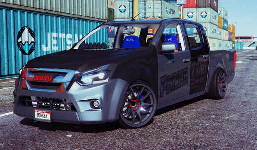 Isuzu D-MAX Blue Power 1.9 2016 [Add-On]