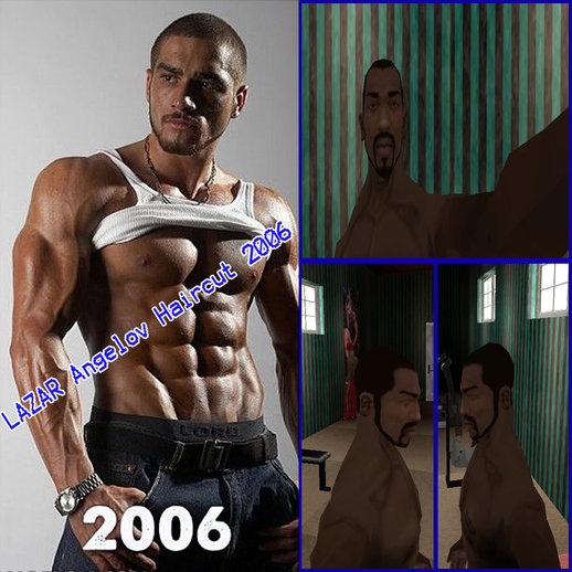 Lazar Angelov 2006 Haircut For CJ