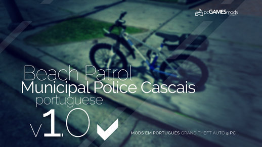 Portuguese Municipal Police of Cascais - Beach Patrol Bicycle [Add-On] v1.0