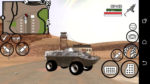 GTA lV TBOGT APC DFF ONLY  For Android