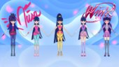 Musa Outfits Pack from Winx: Butterflix Adventures