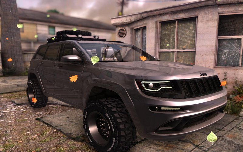 Lifted Jeep Srt8 >> Gta San Andreas Jeep Grand Cherokee Srt Lifted Mod Gtainside Com