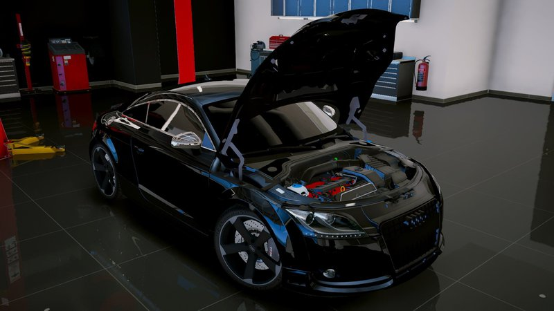 gta 5 audi tt rs 2010 add on tuning mod. Black Bedroom Furniture Sets. Home Design Ideas