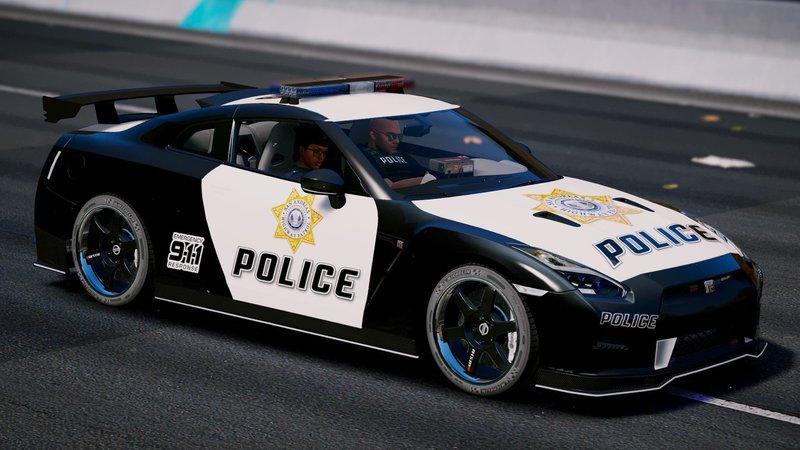 GTA 5 Nissan GT-R Nismo Police Edition [Add-On | Tuning ...