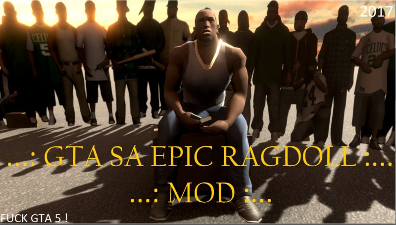 GTA San Andreas Best Ragdoll Physics Mod 2017 Mod