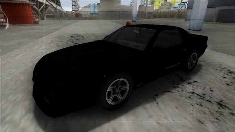 GTA San Andreas 1990 Chevrolet Camaro IROC-Z FBI Mod