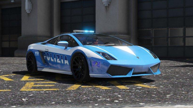 Gta 5 lamborghini gallardo polizia template mod gtainsidecom for Lamborghini template