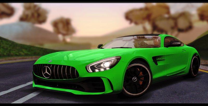 Gta San Andreas 2017 Mercedes Benz Amg Gtr Mod Gtainside Com