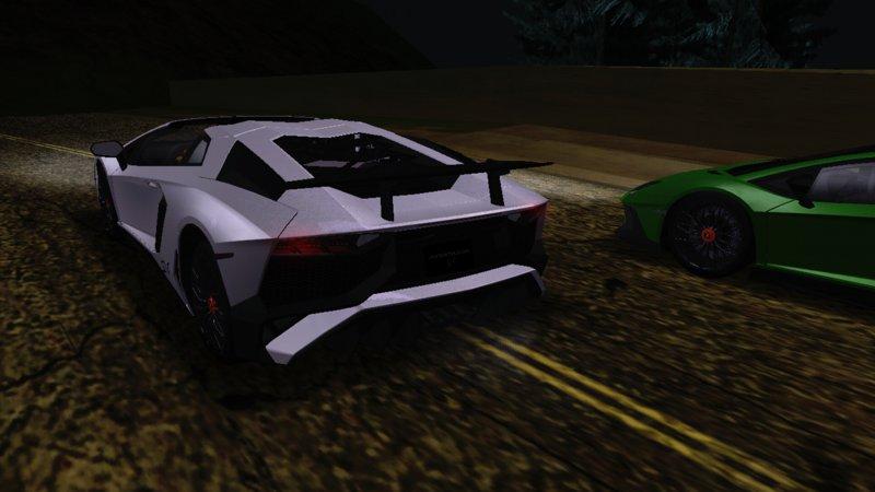 Gta San Andreas 2017 Lamborghini Aventador Sv Roadster Mod