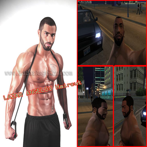 Lazar Angelov Haircut & Beardstyle For CJ